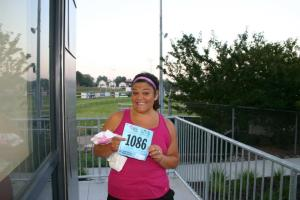 first running bib